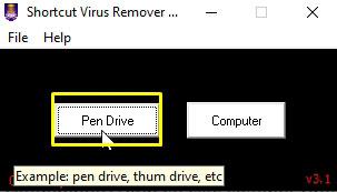 quitar virus de acceso directo en pc