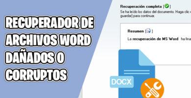 recuperador de archivos word