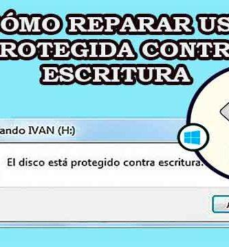 Cómo reparar USB protegida contra escritura