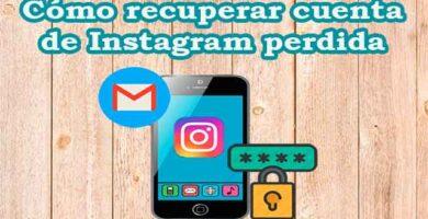 Cómo recuperar cuenta de Instagram perdida