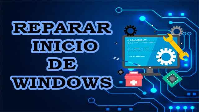 Cómo reparar el inicio de Windows 10