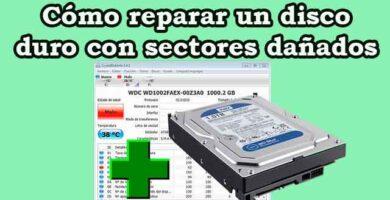 Cómo reparar un disco duro con sectores dañados