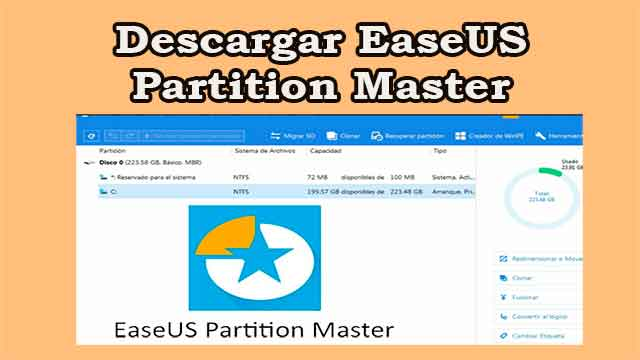 Descargar EaseUS Partition Master gratis