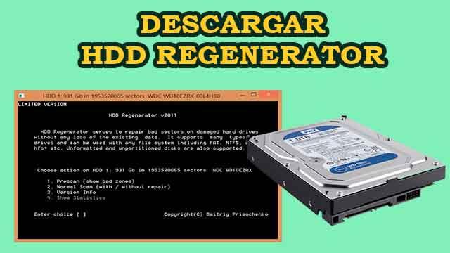 Descargar HDD Regenerator