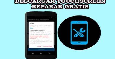 Descargar Touchscreen reparar gratis