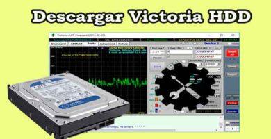 Descargar Victoria HDD gratis