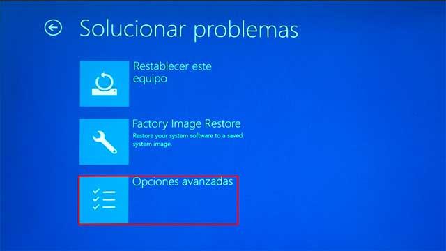 Error de pantalla azul en windows