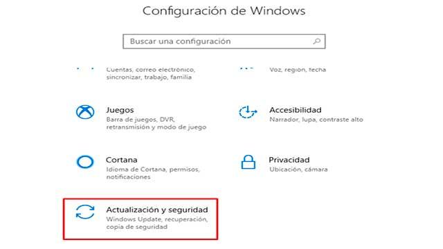 Restaurar Windows desde la consola