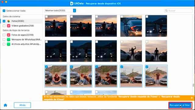 como recuperar fotos de iphone icloud