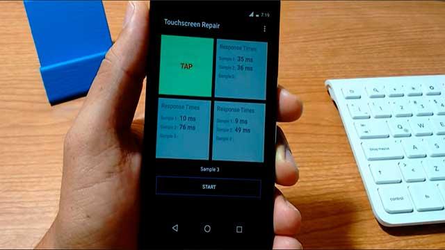 mejorar el tiempo de respuesta de la pantalla tactil un telefono
