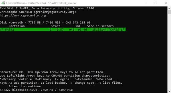 recuperar archivos de un disco con formato raw