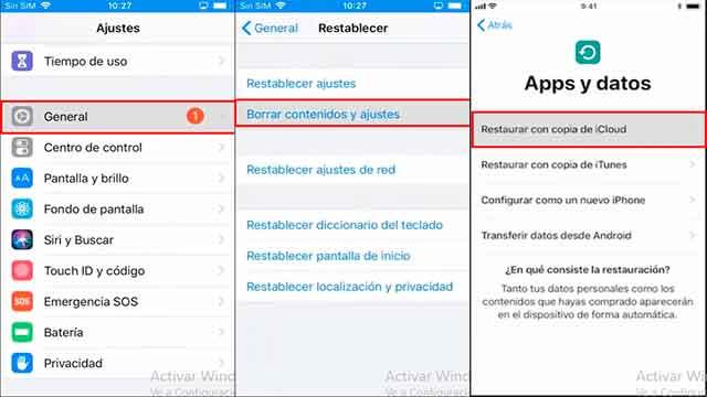 recuperar notas con copia de seguridad en iphone
