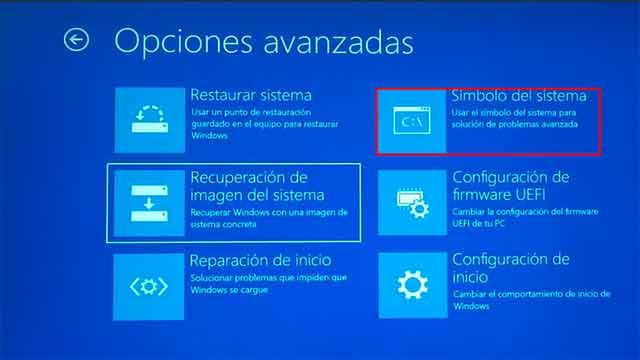reparar el error de pantalla azul en Windows