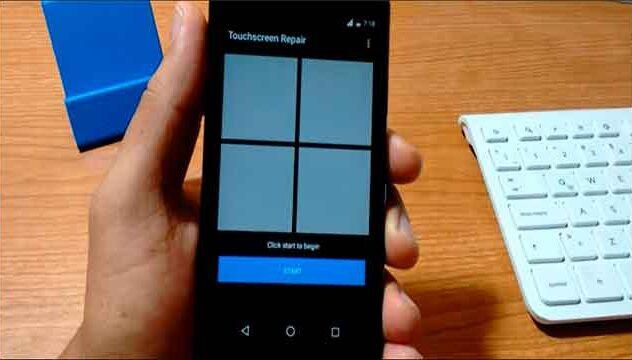 reparar touch screen de un dispositivo android