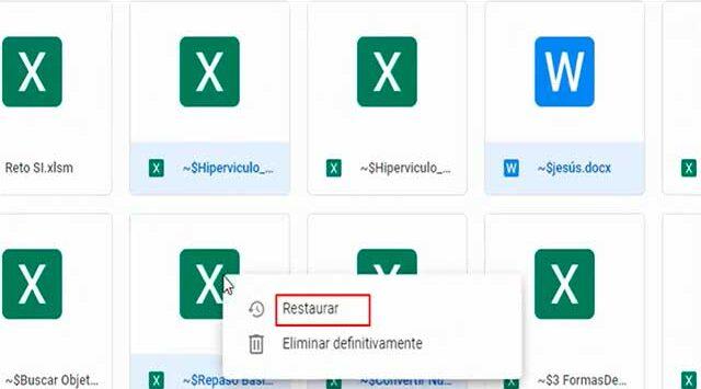 rescatar documentos borrados de google drive