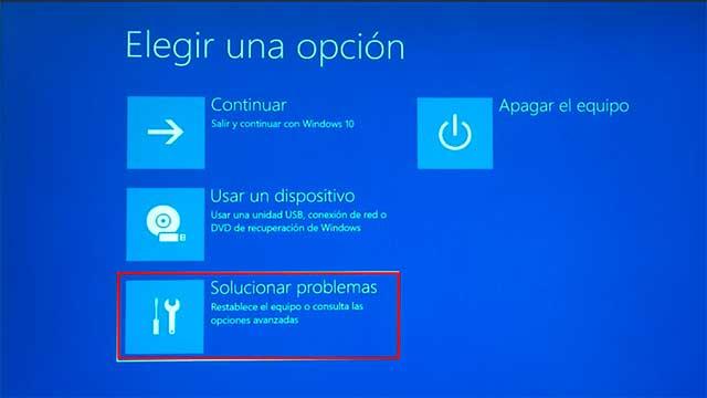 solucionar pantallazo azul en Windows
